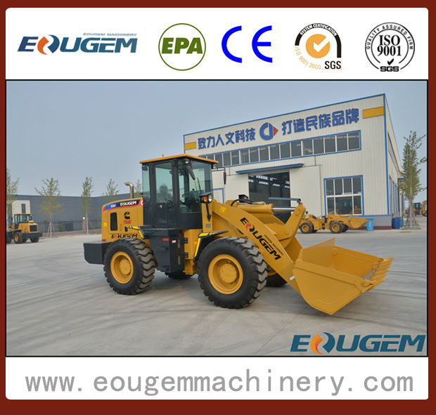 Eougem Articulated Wheel Loader with Cummins Engine (zl30 3ton)