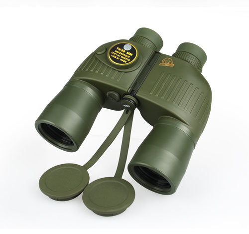 Military Sailling 7X50 Binoculars Travelling Hiking Hunting Tactical Scout Shooting Army Telescope with Compass
