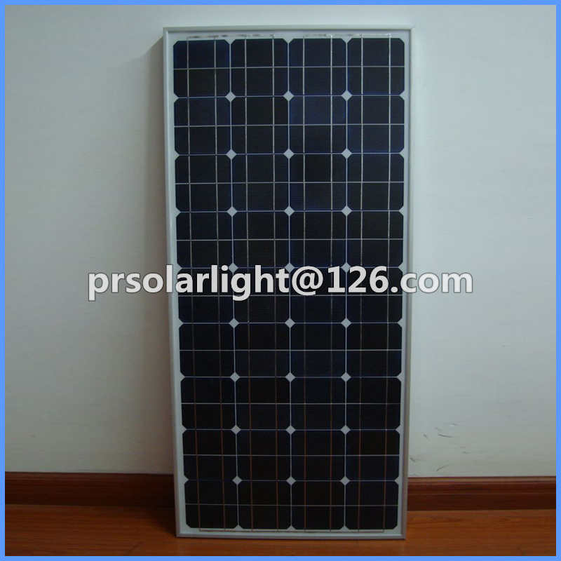 75W High Efficiency Mono Renewable Energy Saving Solar  Cells