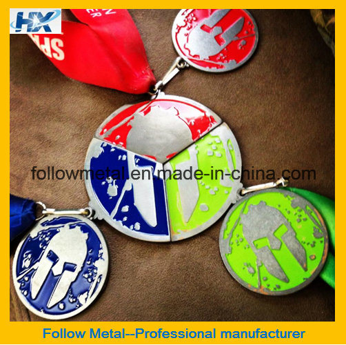 High Quality Magnetic Medal for Sparta Run