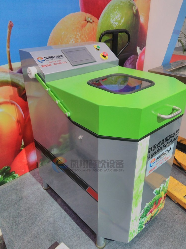 Automatic Centrifugal Fruit Vegetable Salad Spinner Drying Dehydrating Dewatering Machine