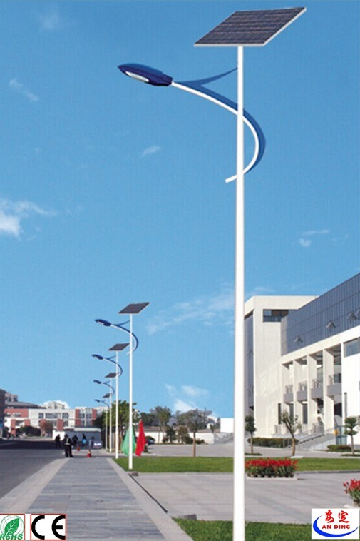 Solar LED Street Light Ce CCC Certification Approved Aluminium 80W LED Street Light Price List