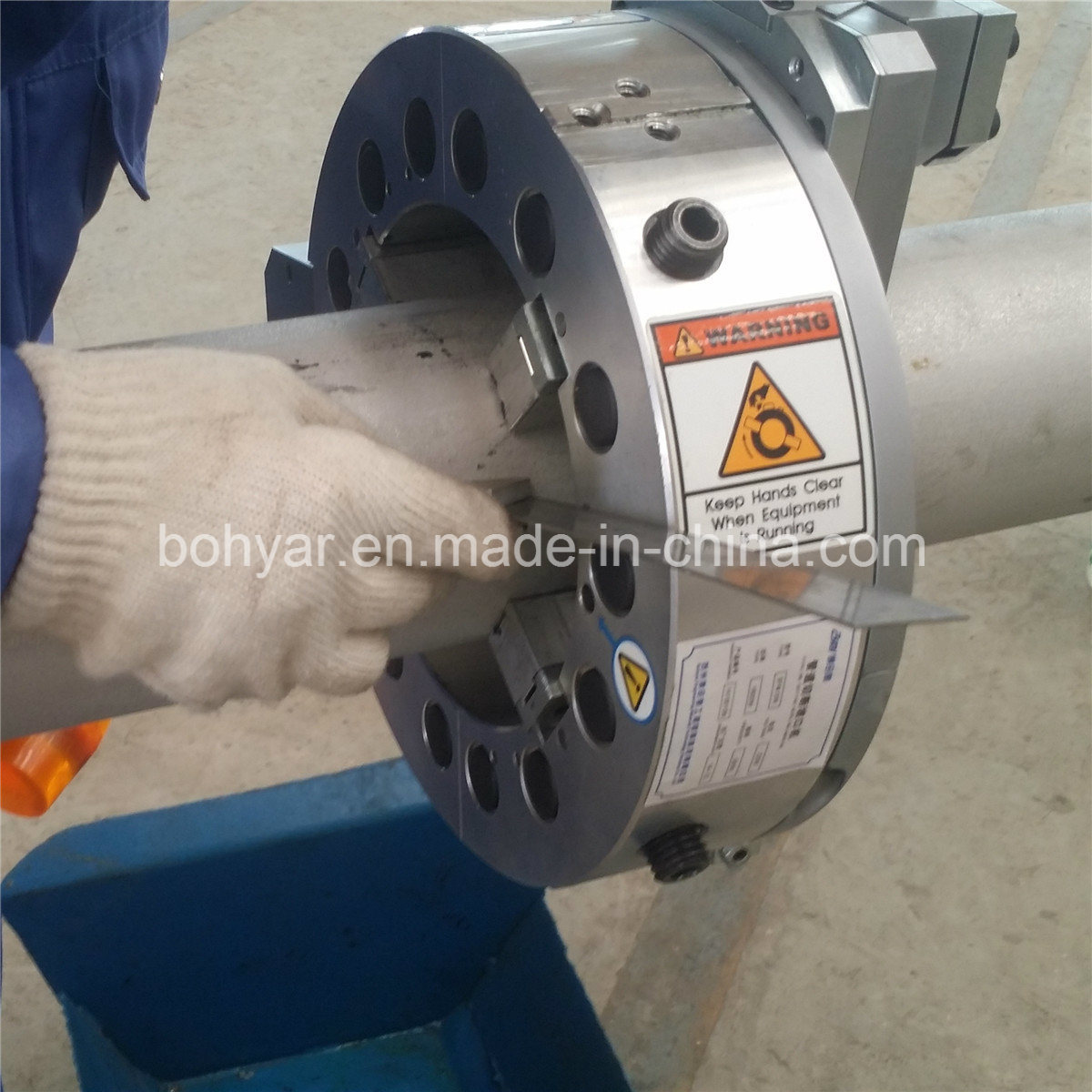 Od Mounted, Pipe Cutting and Beveling Machine with Hydraulic Motor (SFM0206H)