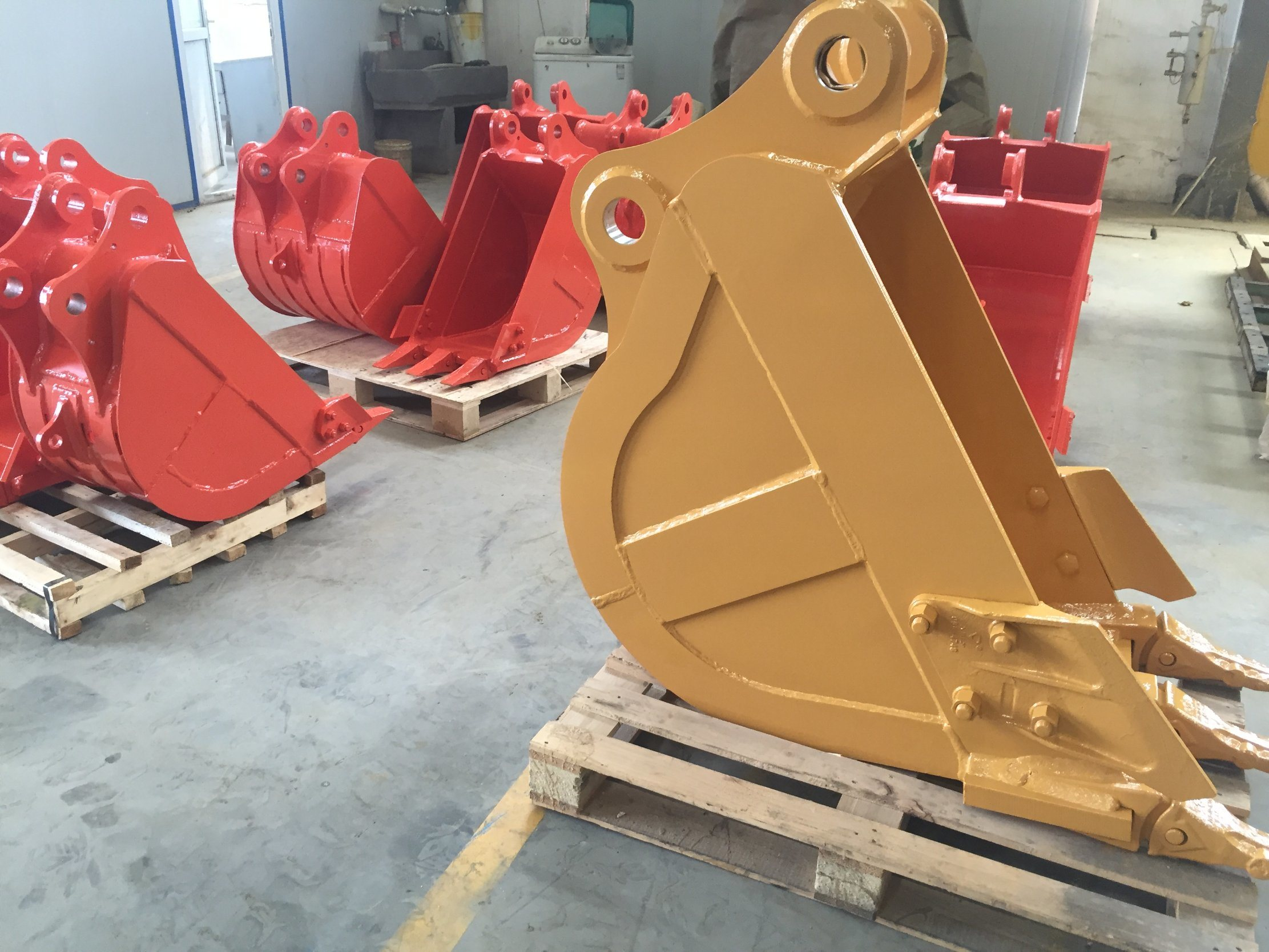 Komastu Excavator Standard Bucket with Teeth