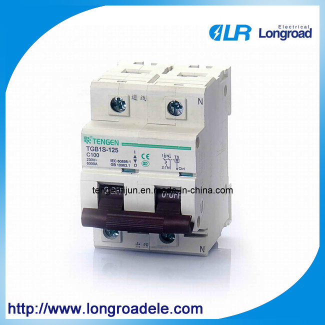 Model Tgb1s-12s Series MCB Specially Used for IC Card Prepayment Kwh Meter