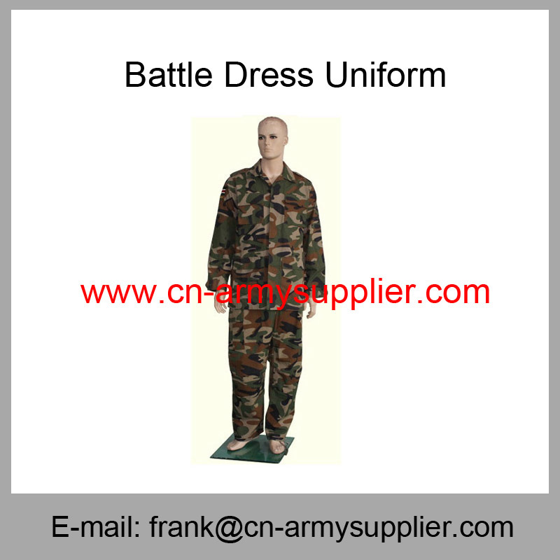 Camouflage Uniform-Military Uniform-Bdu-Battle Dress Uniform
