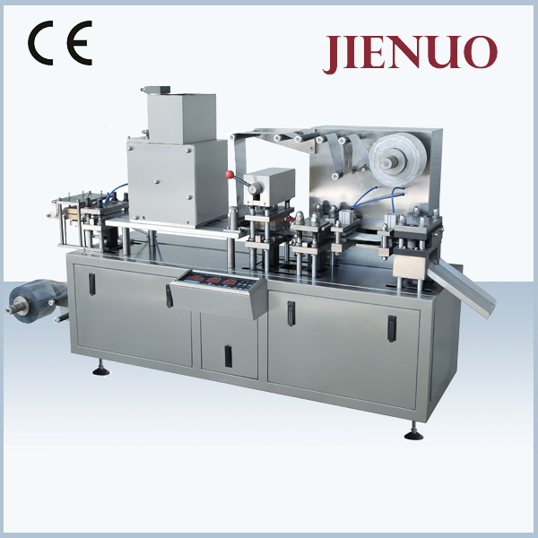 Small Automatic Flat Plate Tablet Blister Packing Machine