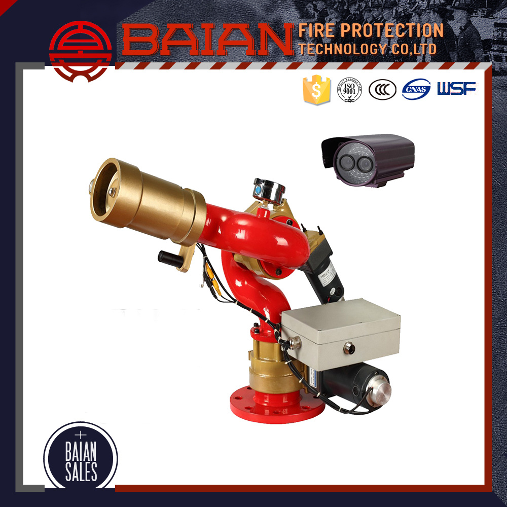 Automatic Extinguisher System Remote Control Fire Water Cannon