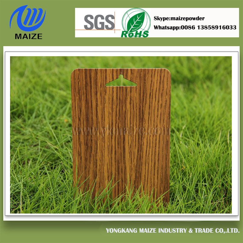 RoHS Standad Decoration Wood Effect Powder