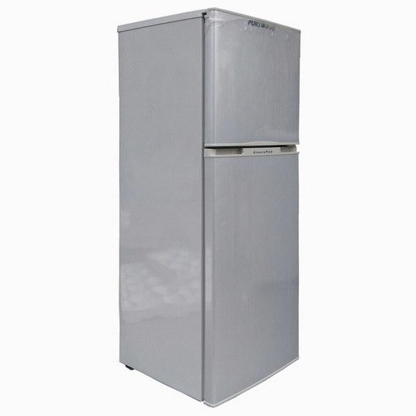 Purswave Bcd-118 118L DC12V24V Solar Fridge Vehicle Refrigerator Double Door Freezing & Cooling Style Compressor Refrigerating Freezer for Car Motor Bus Auto
