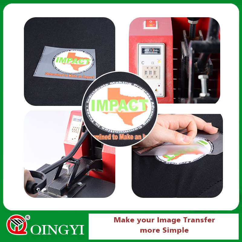 Qingyi Colorful Heat Transfer Label for Garment