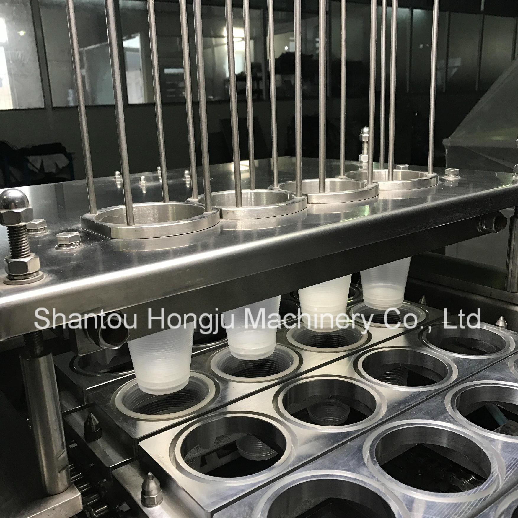 Foil Piece Filling Machine for Plastic Cups