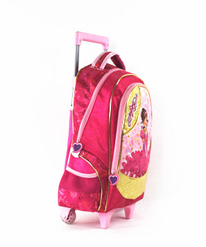 Girl Children Student School Trolley Bag in Good Price