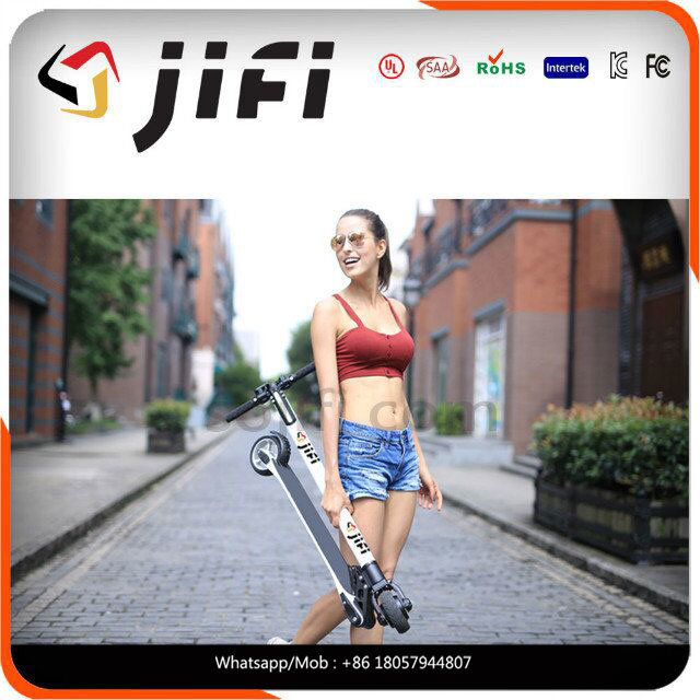 2017 New Design Carbon Fiber Cool Kick Scooter Electric Balancing Scooter