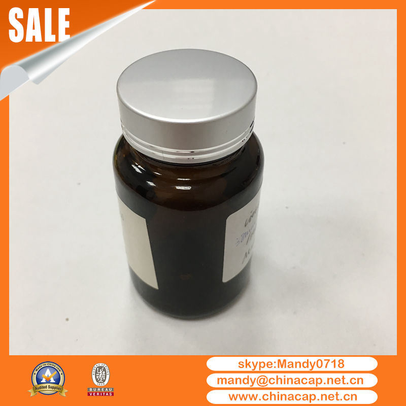 Empty Medicine Bottle Metal Aluminium Screw Cap