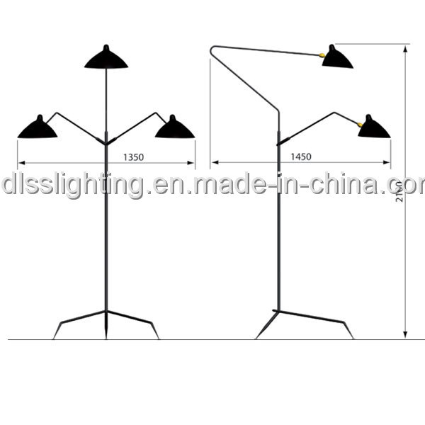 Anitque Creative Decoration Standing Lights for Wholesale