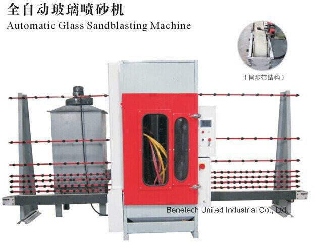 Glass Automatic Sandblasting Machine for Sanding Glass BS