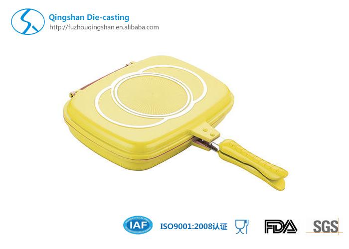 Aluminum Die-Casting Non-Stick Double Pan
