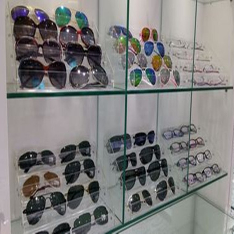 Acrylic Eyewear Display Stands Plastic Eyeglasses Rack Sunglass Display