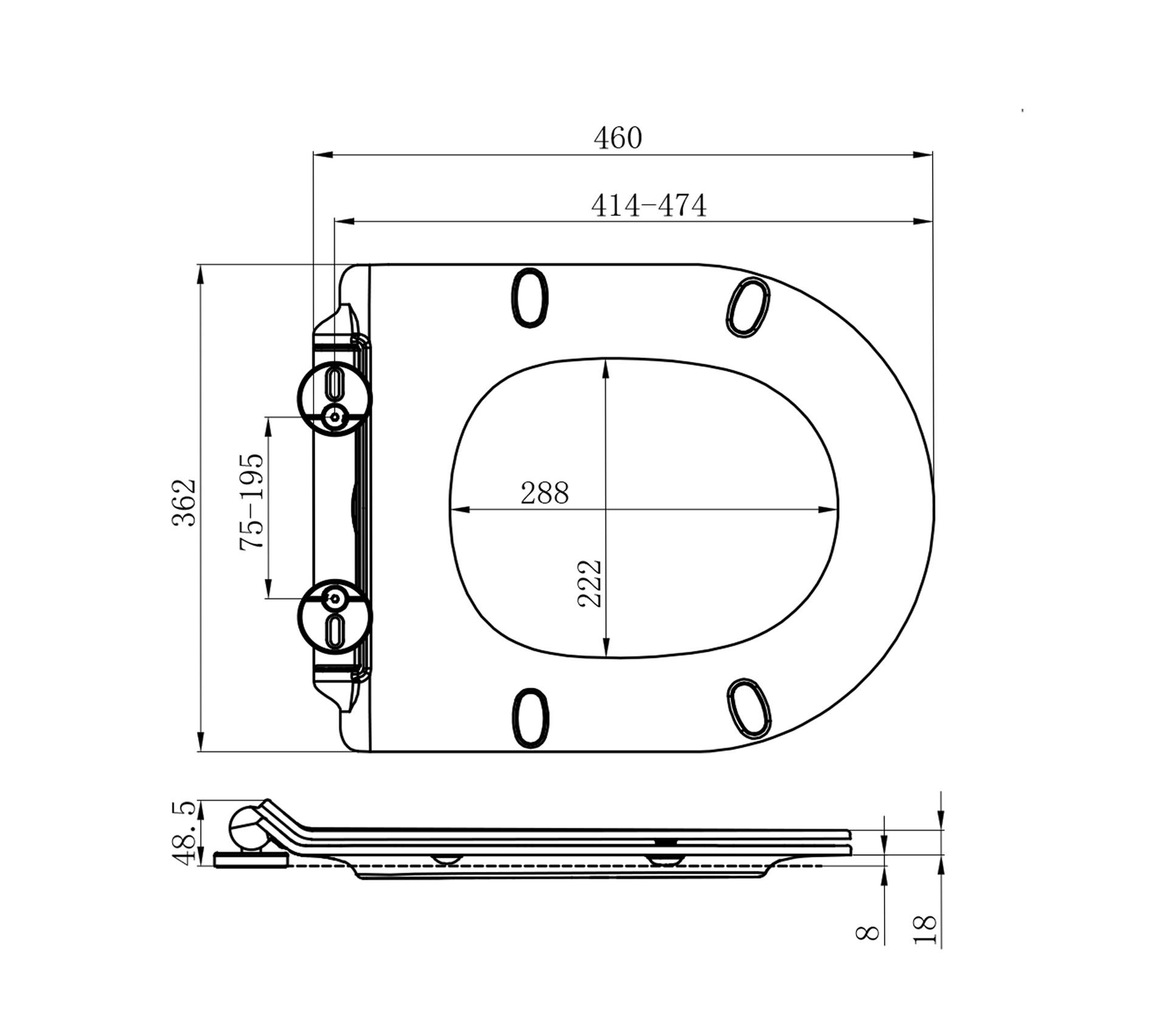 ODM / OEM Resin Toilet Seats