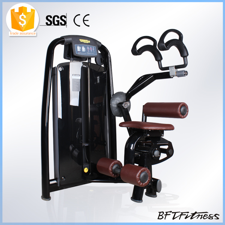 Pin Loaded Abdominal Crunch Gym Equipment Exercise Machine