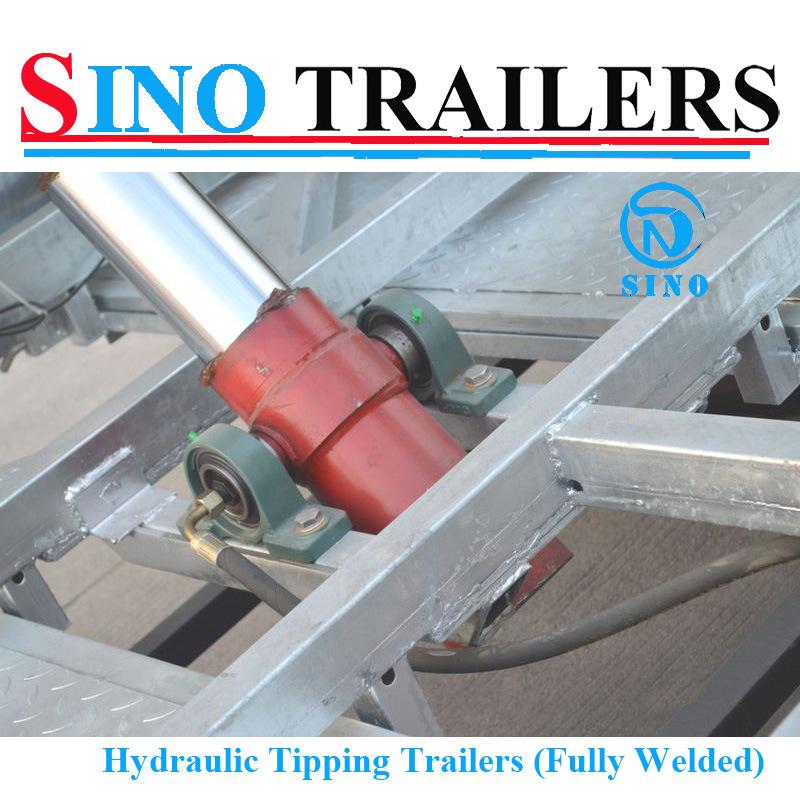 3 Tonne Hydraulic Tipping Heavy Duty Box Trailer