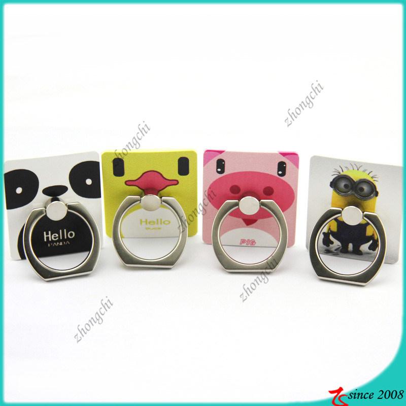 Cartoon Character Logo Finger Ring Holder for Company Gift (SPH16041103)