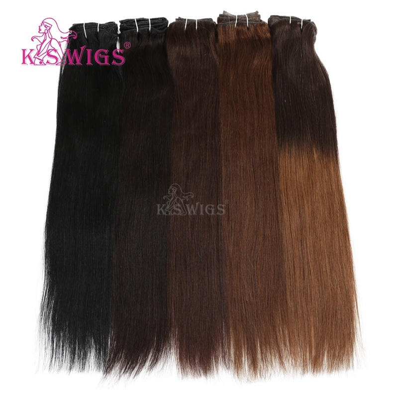 Remy Human Hair Extensions Clip in Brazilian Human Hair