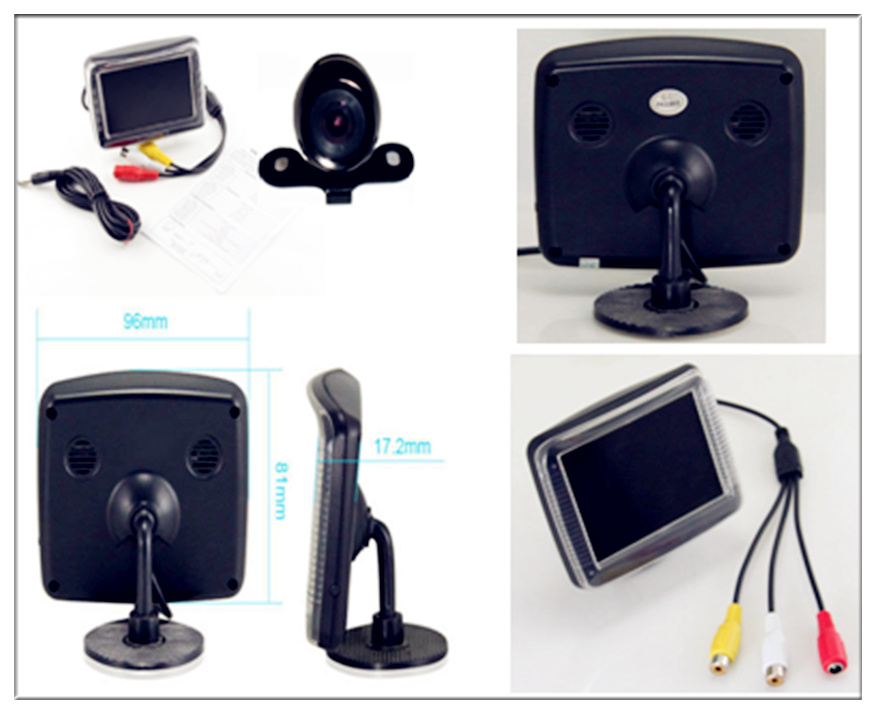Hot Sale Car Rearview Monitor for with Cameras