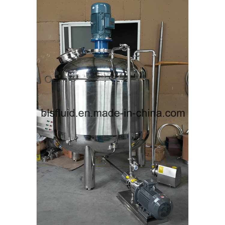 Bls Jacketed Cosmetic Cream Making Machine High Shear Emulsifier