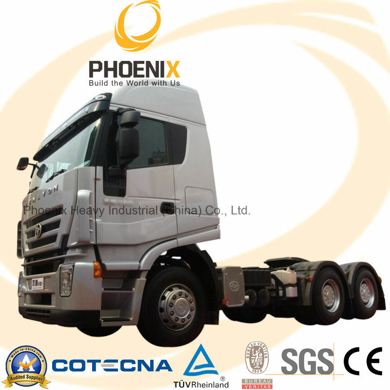 Hot Sale 380HP Genlyon Iveco Tractor Truck 6X4 Competitive to Scania Truck with One Year Warranty for African Market