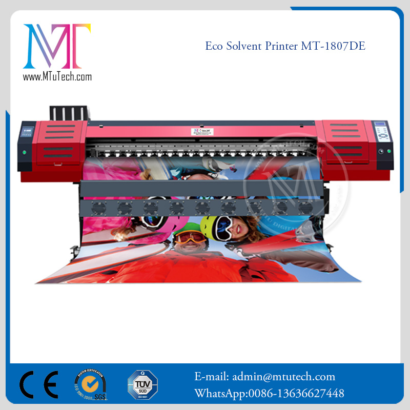 1807de Dx7 Inkjet Printer for Outdoor & Indoor Advertising Digital Printer