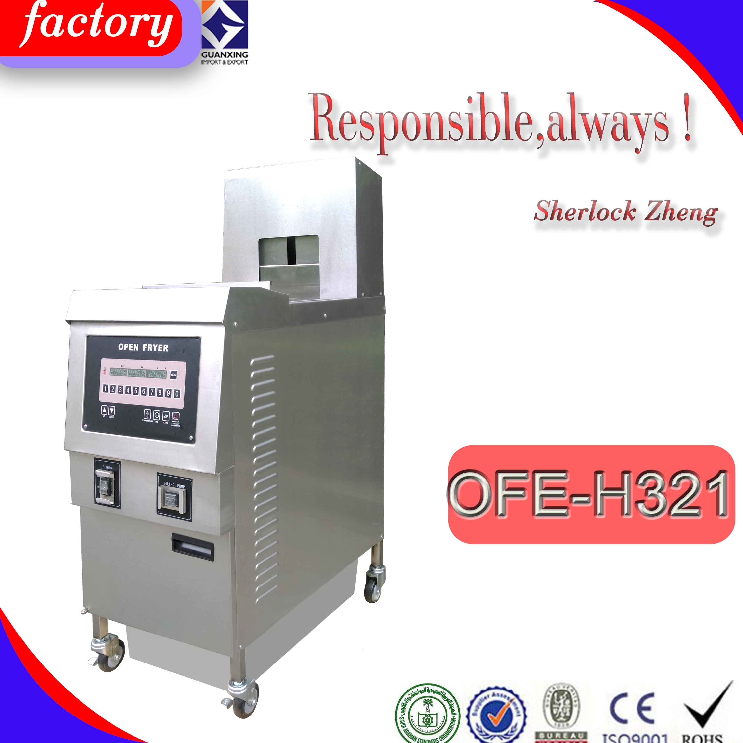 Ofe-H321 Electric French Fries Frying Machine for Fast Food Restaurant|
