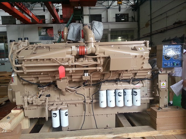 1800HP Cummins Marine Diesel Engine for Dredger Boat