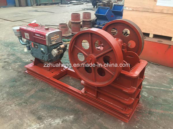 Diesel Jaw Crusher, Stone Crusher, Jaw Crusher Vibrating Screen Machine