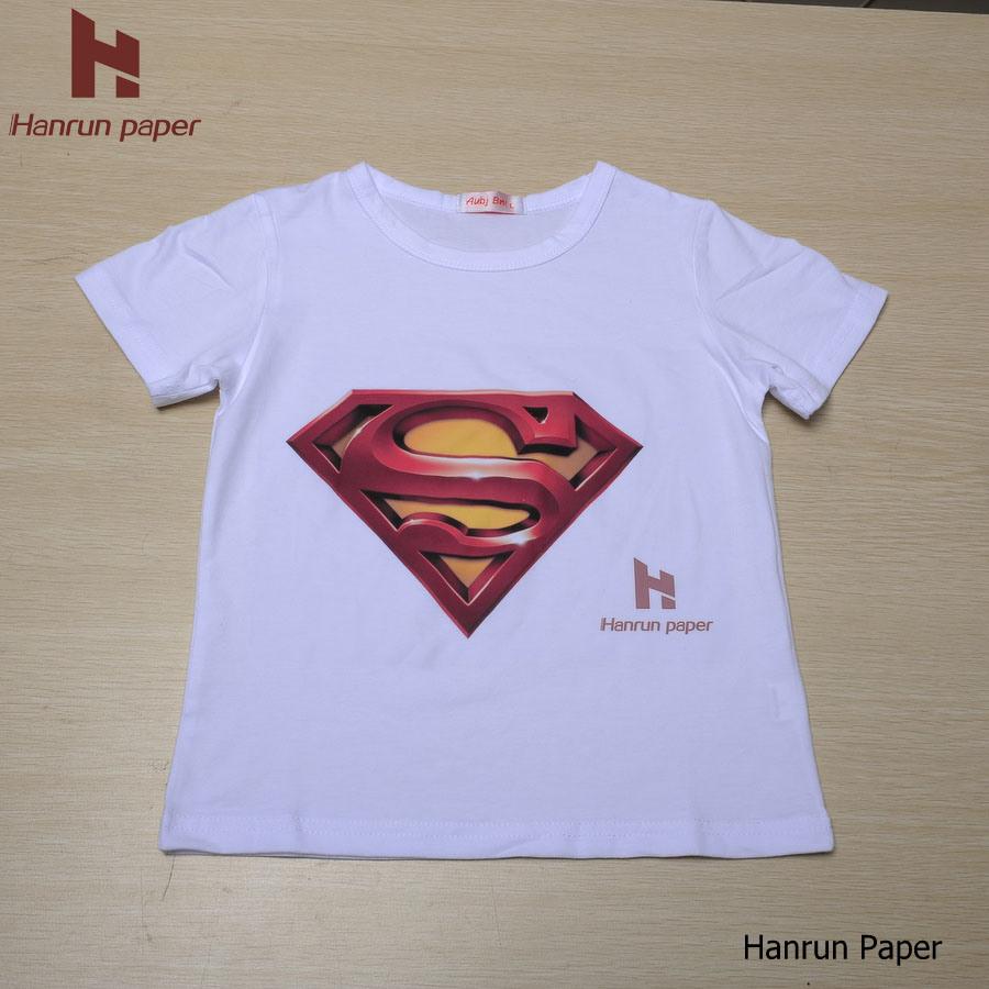 Light T Shirt Heat Transfer Paper Heat Press Cotton Sublimation Paper