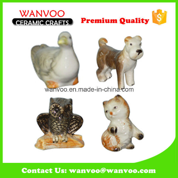 Hot Sale Antique Glazed Ceramic Animal Promotional Gift