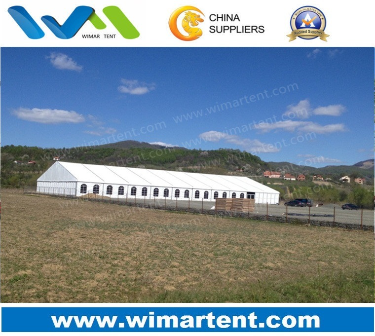 25m White ABS Hard Wall Tent for Restaurant Venue Culinary Events