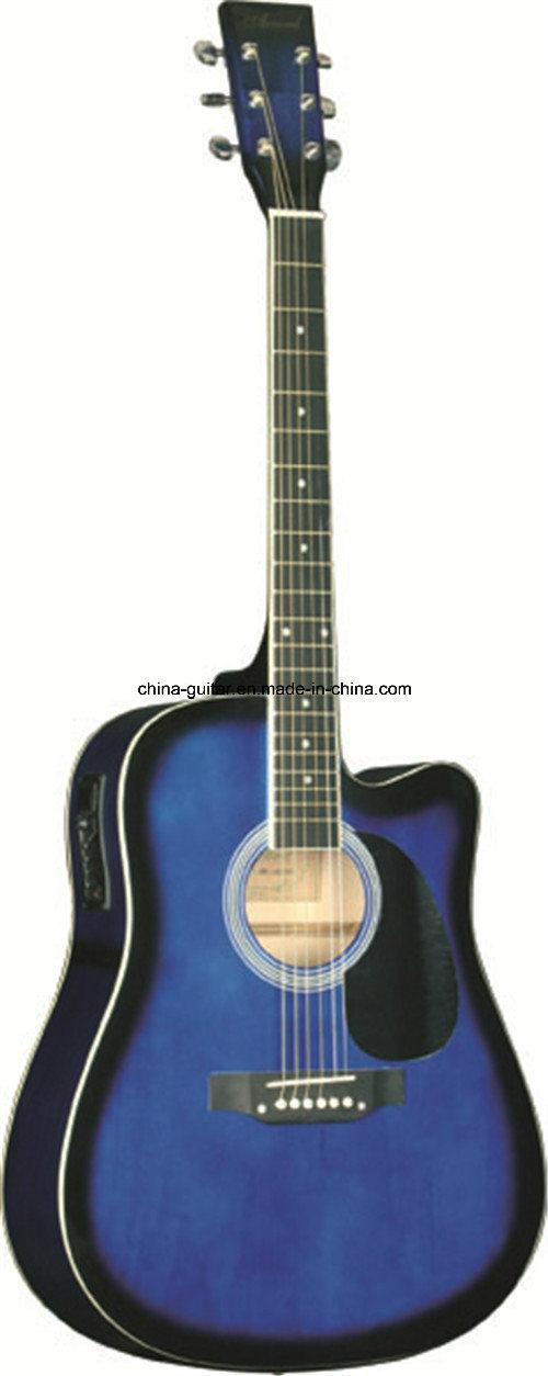 41′′ Cutaway Acoustic Guitar with EQ