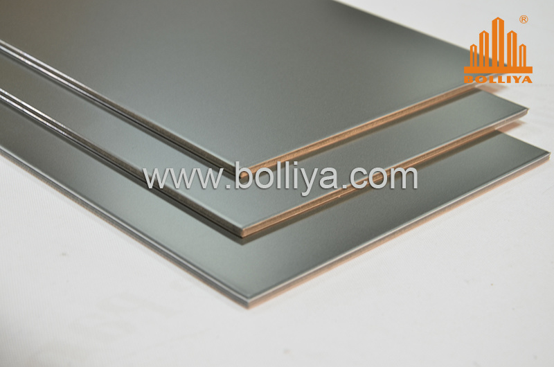 China espejo revestimiento acp panel de muro cortina de for Materiales para toldos de aluminio