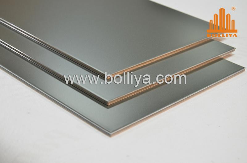 China espejo revestimiento acp panel de muro cortina de for Cortinas de plastico para exteriores