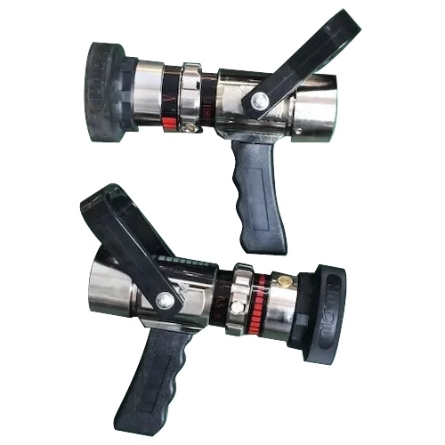 Flow Adjustable Fire Nozzle with Pistol Grip