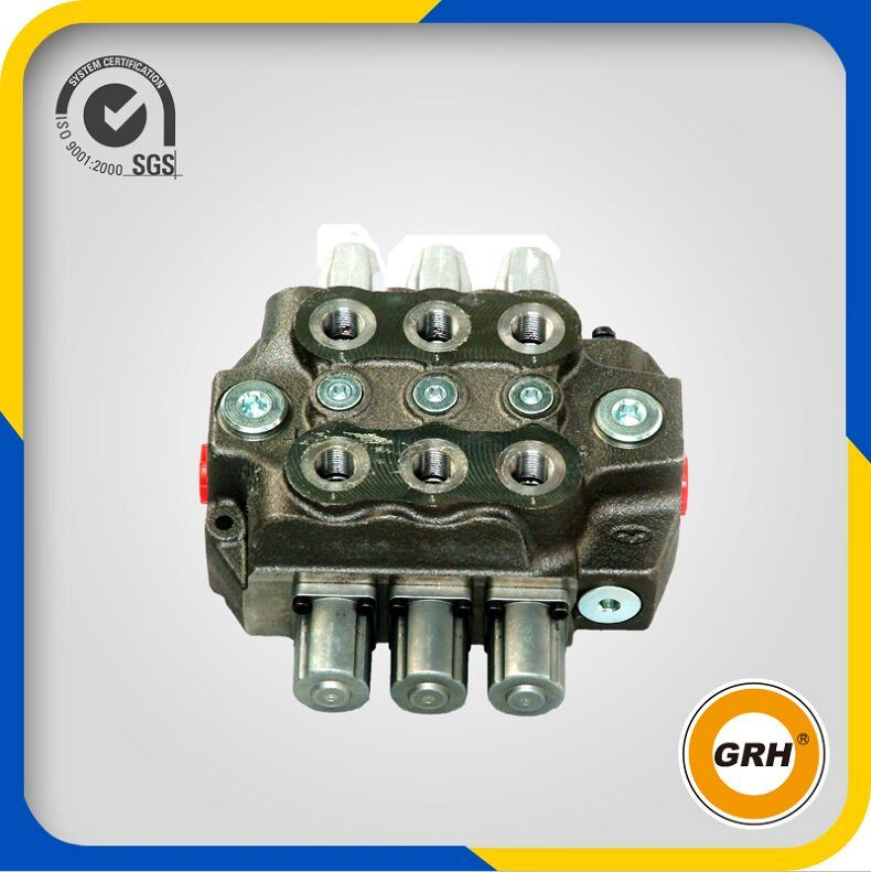 China Hot Sale 80L/Min Hydraulic Directional Control Monoblock Spool Valve