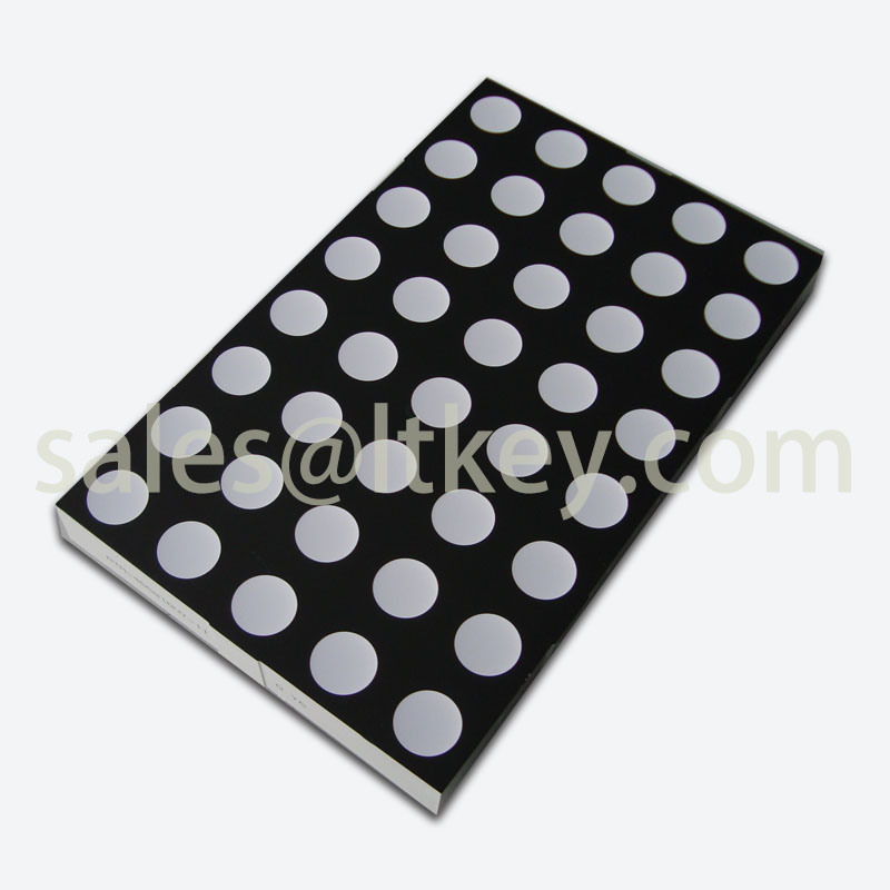 4.6 Inch 5X8 LED DOT Matrix