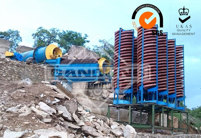 Fiber Glass Spiral Chute for Mineral Concentrator