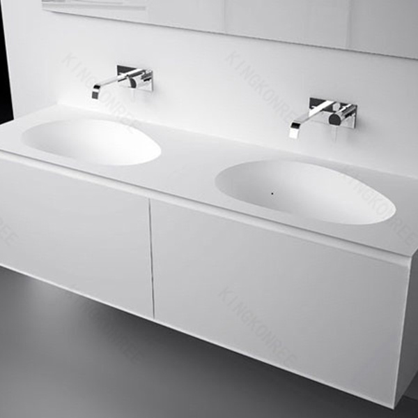 Wholesale Customized Solid Surface Bathroom Vanity