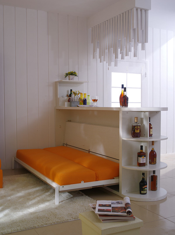 Horizotal Tilting Sofa Bed with Home Furnitures Bar Table