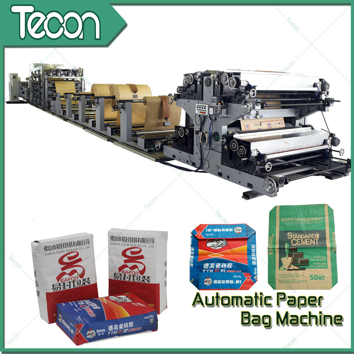 High-Speed Karft Paper Bags Making Machine for Food Bag