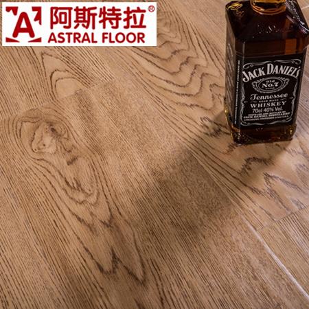 12mm Matte Embossment Laminate Flooring (V-Groove) / (AS3008-33)