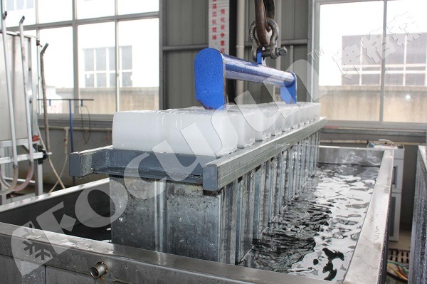 Good Sale Block Ice Machine with Brine Refrigeration System, 10 Tons Per Day